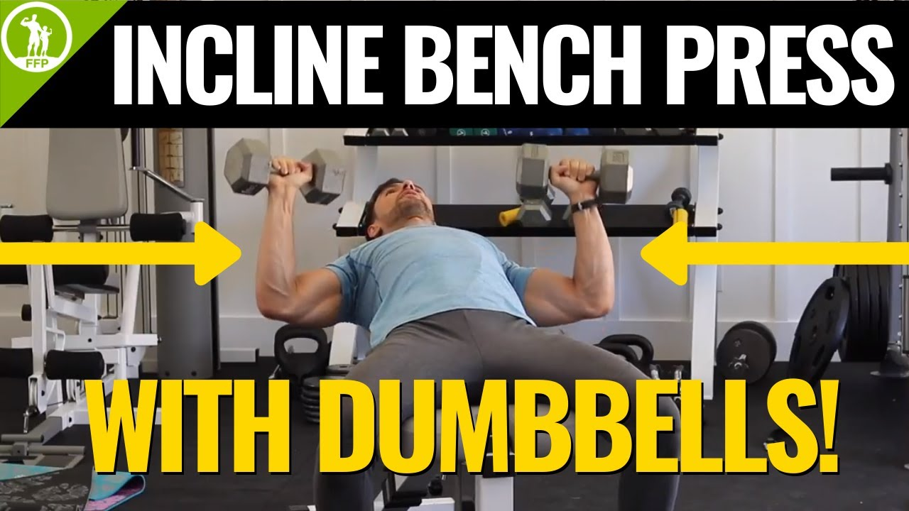 Incline Dumbbell Bench Press Form Tutorial Guide