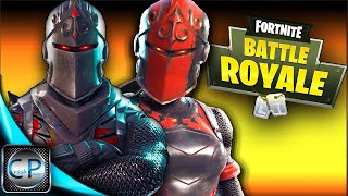 Black knight & Red knight Duo's Gameplay in Fortnite: Battle Royale