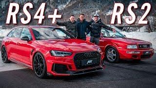 ABT RS4+ & Audi RS2 | 25 Jahre RS Geschichte! | Daniel Abt