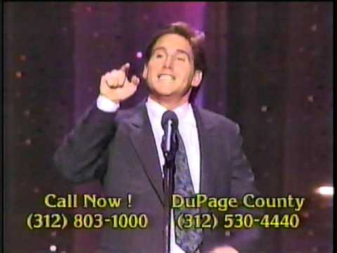 Mike Binder on the 1989 Easter Seal Telethon