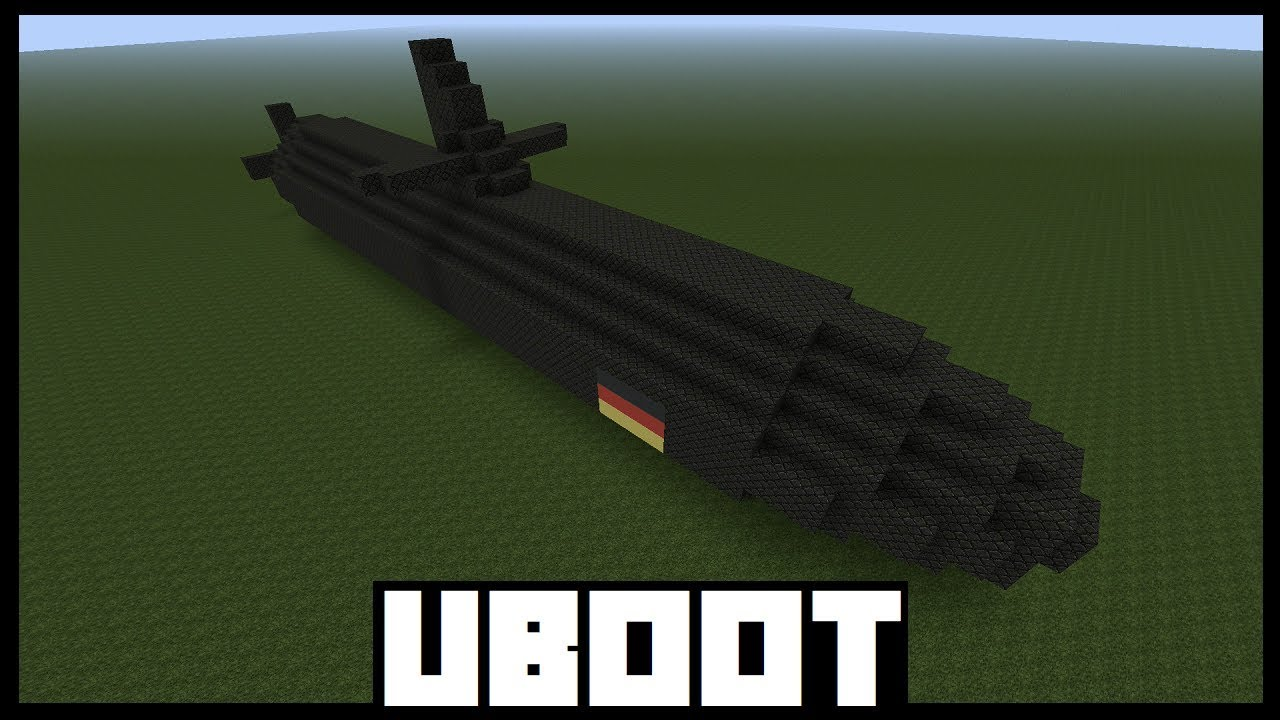 Minecraft Tutorial - Uboot bauen ( Deutsch ) - YouTube