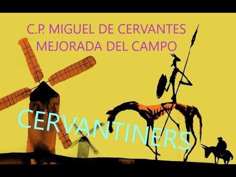Enseñamos el colegio Cervantes de Mejorada del Campo