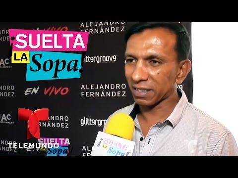 Las exigencias de Alejandro Fernández en sus conciertos | Suelta La Sopa | Entretenimiento