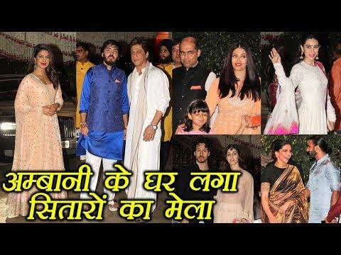 Salman, Shahrukh, Deepika, Ranveer, Priyanka, other celebs at Ambani Ganpati Bappa Bash | FilmiBeat