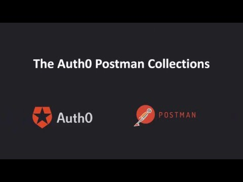 Using the Auth0 Postman Collections
