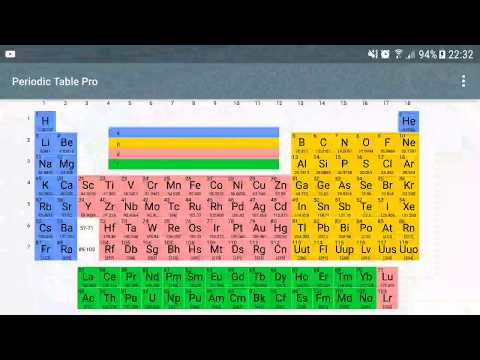Periodic table of elements android apps on google play urtaz Images