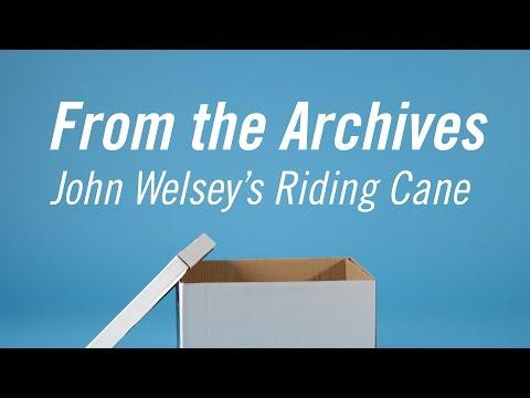 John Wesley's Riding Cane
