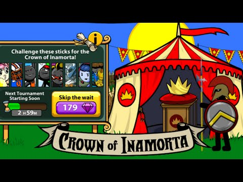 Stick War Legacy: EARLY CROWN OF INAMORTA GAMEPLAY!