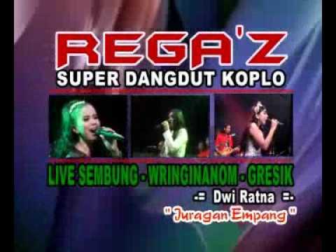 Juragan Empang - Dwi Ratna - Rega'z live sembung Wringinanom 2017