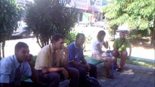 Leonardo Labareda Pregando na Praça Gentil Ferreira