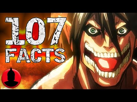 107 Attack On Titan Anime Facts YOU Should Know! - Anime Facts (107 Anime Facts S1 E2)