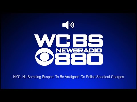 NYC, NJ Bombing Suspect To Be Arraigned On Police Shootout Charges (Audio)