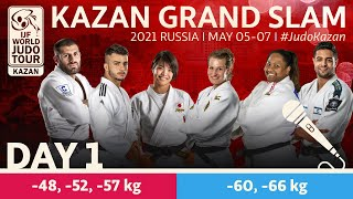 Day 1 - commentated: Kazan Grand Slam 2021