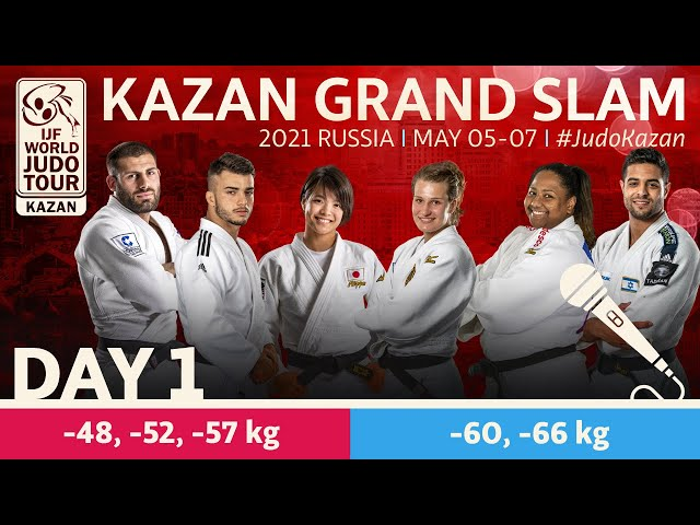Day 1 - commentated: Kazan Grand Slam 2021