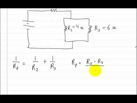 Series Parallel Circuits How To Solve For Total Resistance Youtube