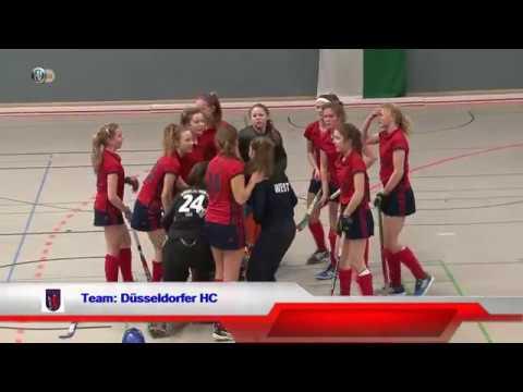 12.Spiel DM Halle weibliche Jugend B  ESV München vs. Düsseldorfer HC 25.02.2017