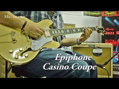 Epiphone casino coupe youtube
