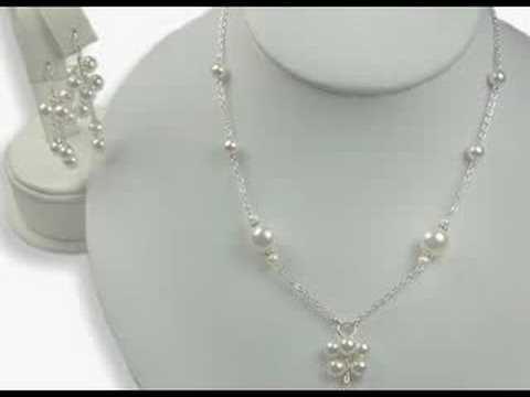 Swarovski crystal bridal jewelry