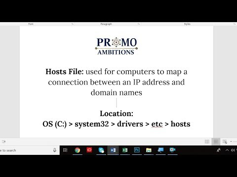 How To Change Hosts File Windows 10 (2019)