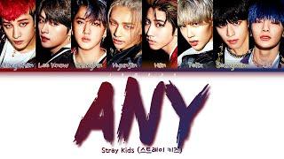 "Download Stray Kids (스트레이 키즈) - <IN生> UNVEIL : TRACK ""아니 (Any)"" [Color Coded Lyrics/Han/Rom/Eng/가사]"