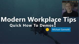 Live Events in Teams - Modern Workplace Tips Video