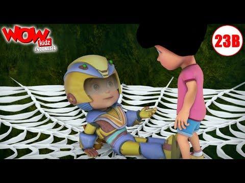 kartun-anak-|-vir:-the-robot-boy-bahasa-indonesia-|-laba-laba-raksasa-|-wowkidz-indonesia