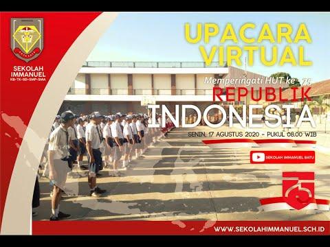 UPACARA ONLINE MEMPERINGATI DIRGAHAYU KE-75 REPUBLIK INDONESIA
