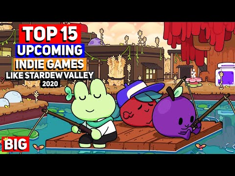 Top 15 Upcoming Indie Games Like Stardew Valley (Farming / Games Like Animal Crossing!)