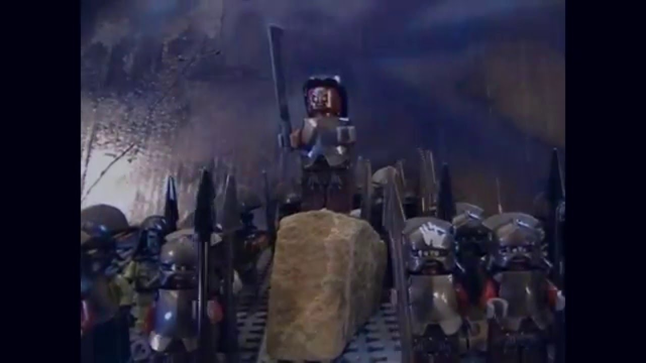Stop-motion Lego Battle of Helm's Deep makes iconic Lord of