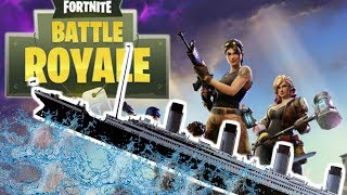 BUILDING THE TITANIC IN FORTNITE BATTLE ROYALE! PLAYGROUND