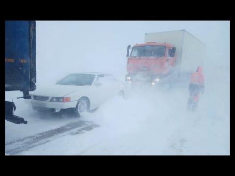 Ужасные дороги севера. Дорога на Ямал. Terrible Roads Of The North. The Road To Yamal.