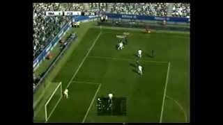 FINAL PES 2012 - XBOX 360 (PRIMER TIEMPO 1-0) SEBASTIAN ROZO vs. Julian Caviedez.