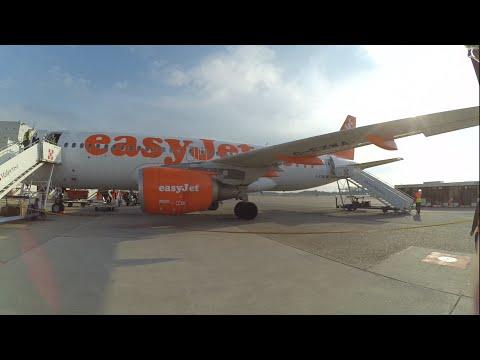 EasyJet: Airbus A319 Prague Airport to Milan Malpensa [PRG-MXP] EZY 2582 full flight report [HD]