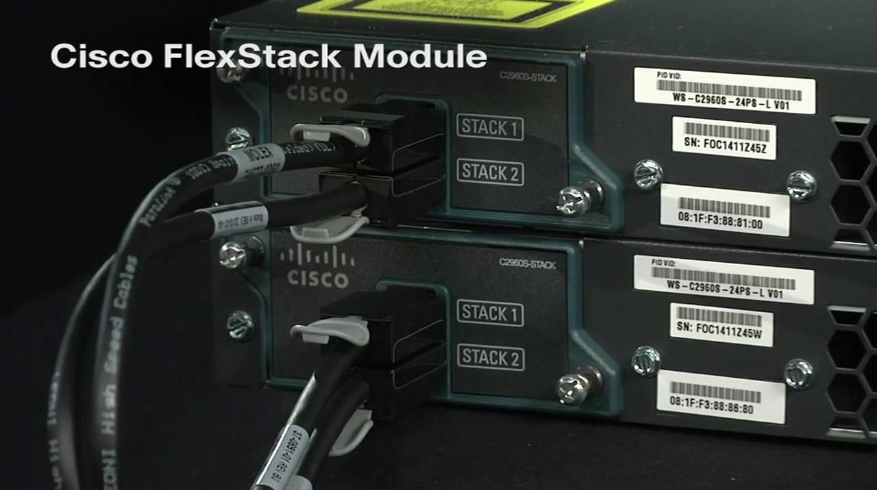 Cisco Catalyst 2960X and 2960S Stacking – Cyber Security Memo