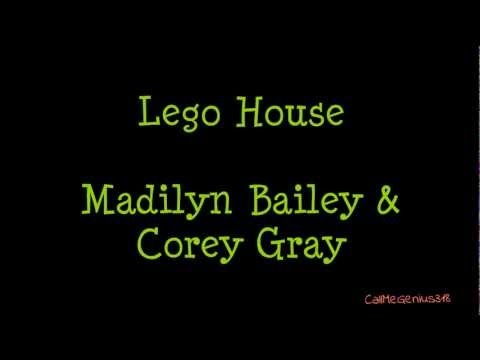 Lego House - Madilyn Bailey & Corey Gray (Lyric Video)