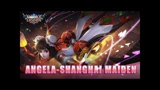 Mobile Legends: Bang Bang! July starlight Exclusive Skin Angela Shanghai Maiden