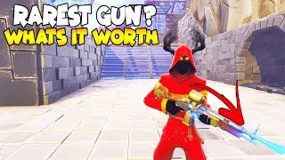 This Gun Might Be The Rarest Gun (Scammer Gets Scammed) Fortnite Save The World