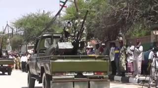 Somaliland army Parade 18 May 2014