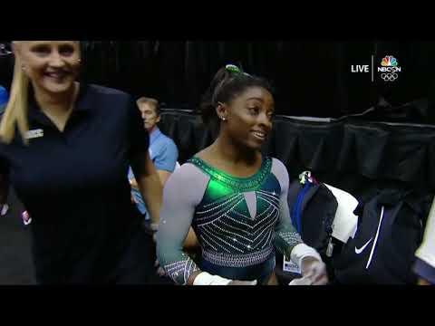 Simone Biles –Uneven Bars – 2019 U.S. Gymnastics Championships – Senior Women Day 1 - NBCSN