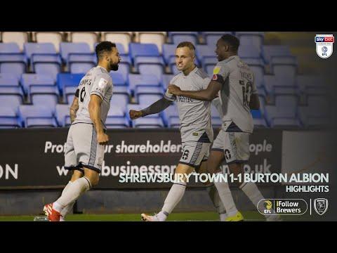 Shrewsbury Burton Goals And Highlights