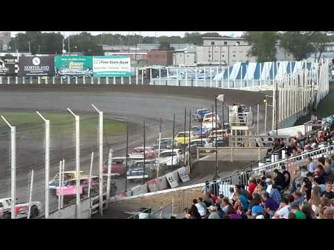 CRASH-River Cities Speedway-Street Feature-6/29/2012-Ryan Johnson crash