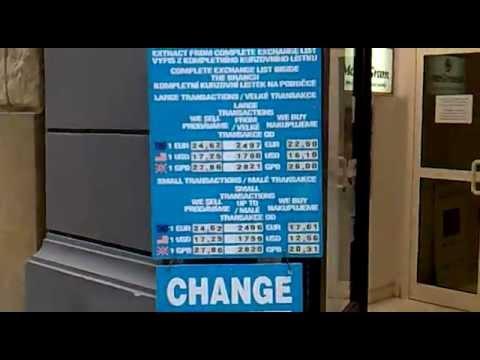 Чехия - Прага обмен валюты.mp4