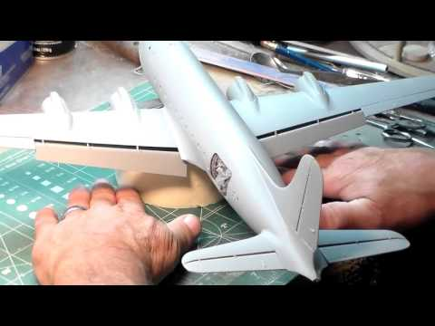 Cold War Aircraft Gb.  REVELL C54-D SKYMASTER Video 3
