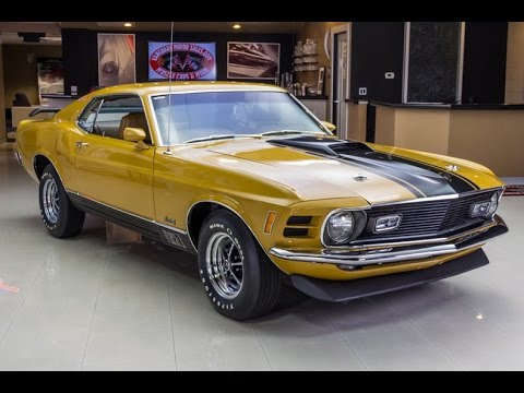 1970 Ford Mustang Mach 1 For Sale Youtube