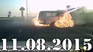Видео подборка ДТП и Аварии за Август 2015 №131. Car Crash Compilation 2015 аварии и дтп