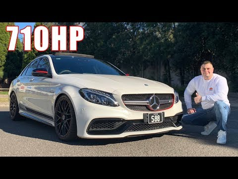 710 HP Mercedes Benz C63 S AMG - Road Test Review