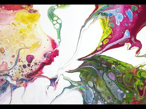 Acrylic Pouring Collaboration