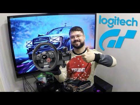 видео: Обзор лучшего бюджетного игрового руля - logitech driving force gt  для ПК ps3 ps4