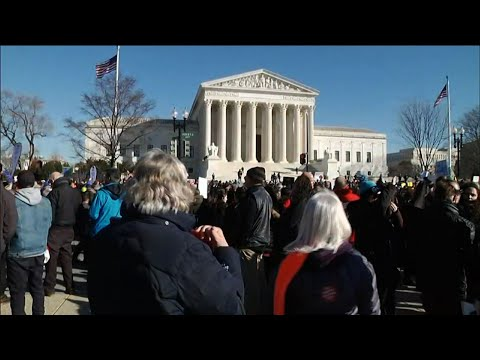Thousands March On Washington Against Abortion