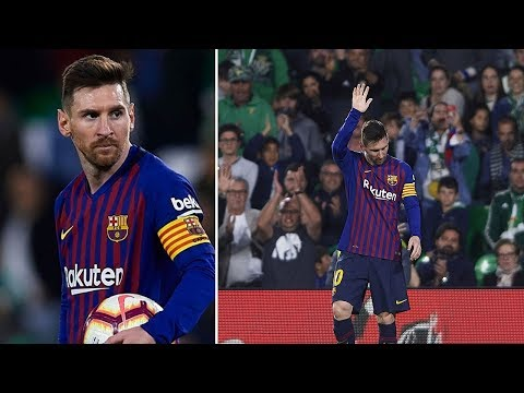 What Betis fans did after Messi's hat-trick proves he is the best player - Best of the weekend